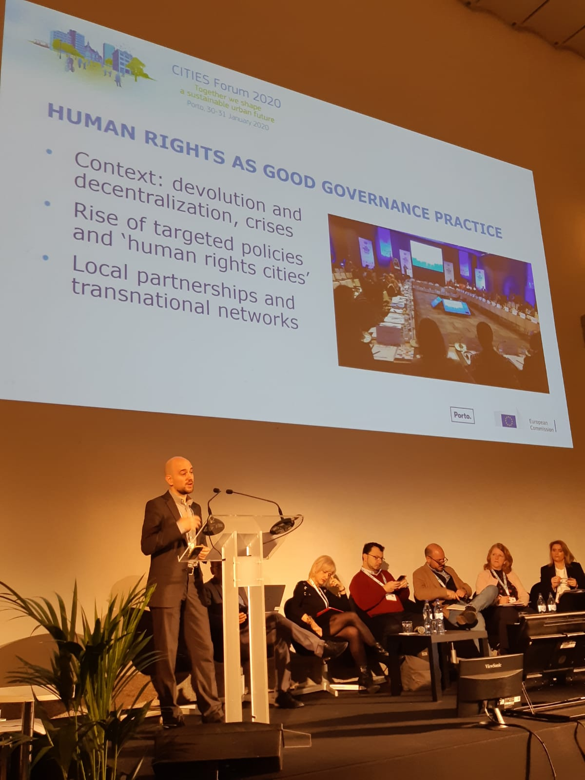 Panel on cities as guardians of human rights